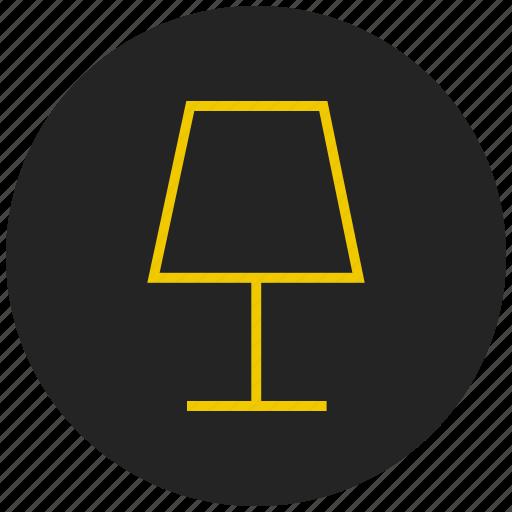 bulb, decorative lamp, electronic lamp, lamp, light, table lamp icon