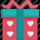 box, decoration, gift, holiday, love, ribbon, valentine