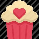 baked, cake, dessert, homemade, moffin, sweet, tasty icon