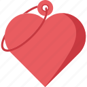 happiness, heart, heart key icon