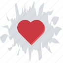 blood spatter, blood splash, bloody heart, heart in blood, heart splash icon