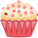 cake, celebrations, cupcake, muffin icon