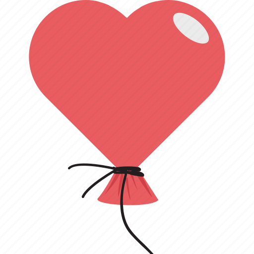 birthday, celebrations, decoration, valentine heart icon