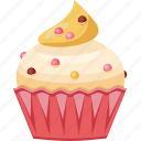 cake, celebrations, cupcake, dessert, muffin icon