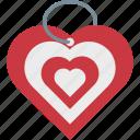 happiness, heart keychain, love present, valentine gift, valentines day icon