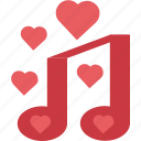 favorite, love songs, loving, romantic, song icon