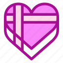 gift, love, valentine icon