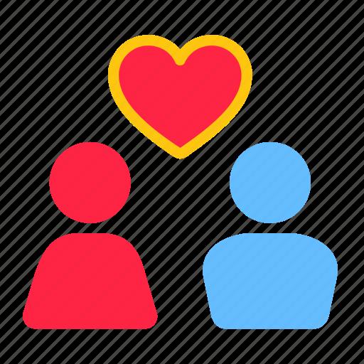 couple, date, love, romance, romantic, valentine, wedding icon