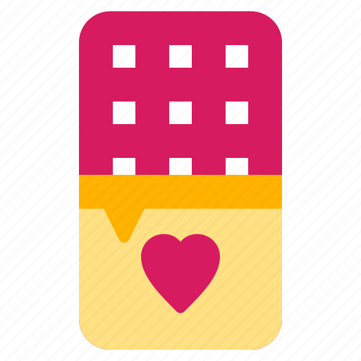 chocolate, dating, love, valentine icon