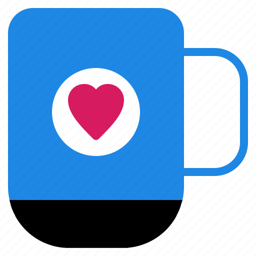 cup, dating, glass, love, valentine icon