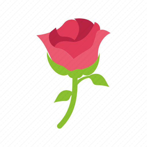 Flower, nature, red, rose icon - Download on Iconfinder