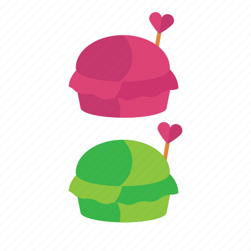 cookie, food, macaronz, snack, valentine icon