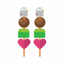 food, love, snack, sweet, valentine icon
