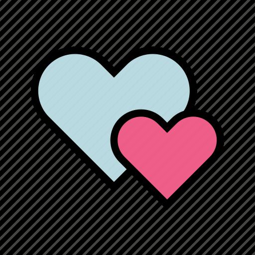 Heart, love, valentine, romance, wedding, romantic icon - Download on Iconfinder