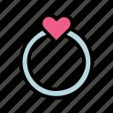 ring, wedding, valentine, heart, love