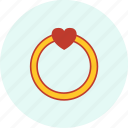 carnival, event, festive, party, ring, valentine icon