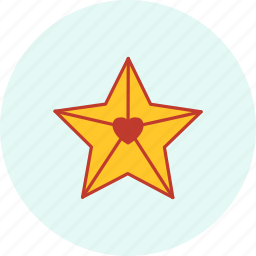 carnival, event, festive, party, star, valentine icon
