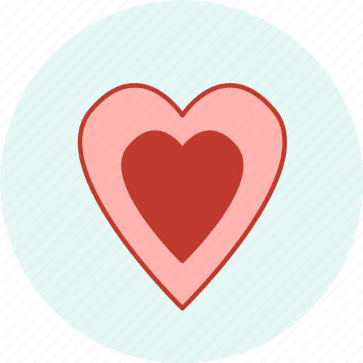 carnival, event, festive, heart, party, valentine icon