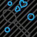heart, love, spoon, valentine