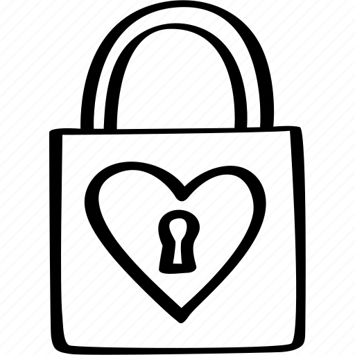 heart, key, lock, love, valenticons, valentine icon
