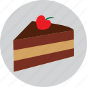birthday, cack, cake, heart, love, valentine icon