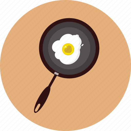 breakfast, heart, love, omelette, propose, valentine icon
