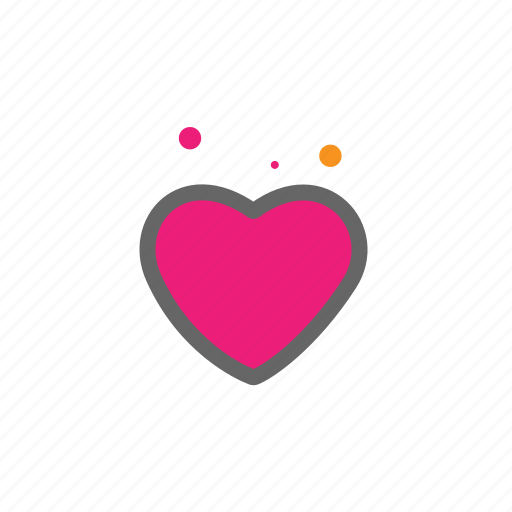 heart, love, lovers, passion, valentine icon