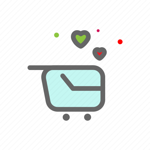 ecommerce, heart, love, lovers, passion, shop, valentine icon
