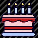 cake, sweet, dessert, bakery, birthday