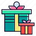 gift, present, box, surprise, valentine, day icon