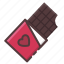 candy, chocolate, confection, sweet, valentine icon