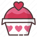 bakery, baking, cupcake, dessert, food, sweets icon