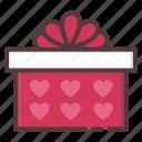 birthday, gift, love, present, surprise, valentines icon