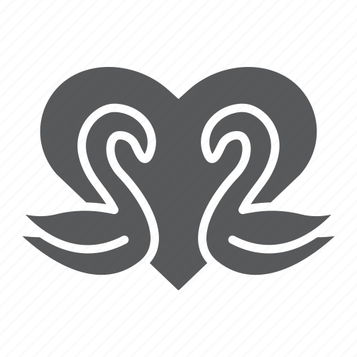 Bird, day, heart, love, romance, swans, valentines icon - Download on Iconfinder