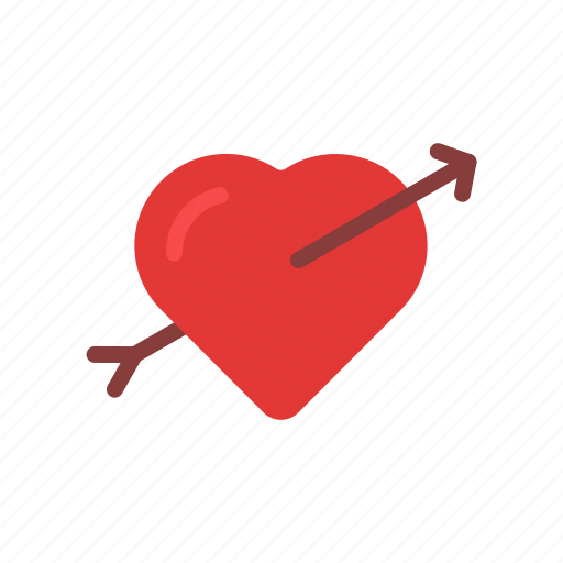 Arrow Couple Fall In Love Heart Love Valentine Valentine S Day