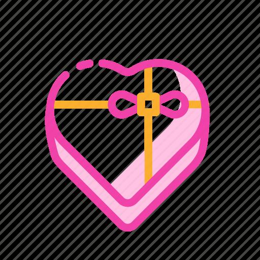 box chocolate, couple, romantic, sweet, valentine icon