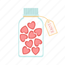 love, pills, romantic, valentines