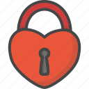 colored, day, holiday, holidays, lock, love, valentines