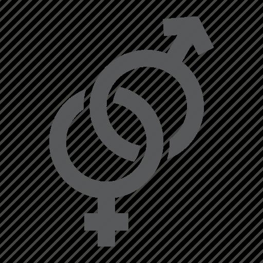 Female, gender, heterosexual, love, male, sex, sign icon - Download on Iconfinder