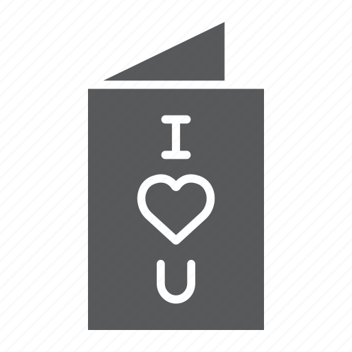 Card, greeting, love, postcard, valentine, wedding, you icon - Download on Iconfinder