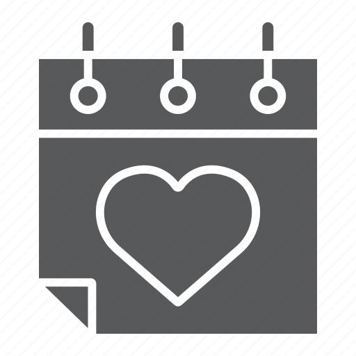 Calendar, celebration, day, february, heart, love, valentines icon - Download on Iconfinder