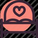 bed, heart, love, relationship, romantic, sleep, wedding