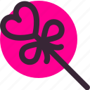 candy, gift, lolipop, love, valentine, valentine's day icon