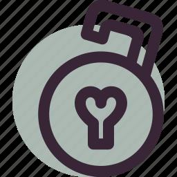 heart, lock, love, open, relationship, unlock icon