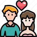 avatar, couple, dating, heart, love, valentine, wedding