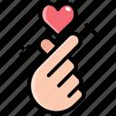 finger, gesture, hand, heart, love, romantic, valentine