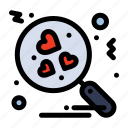 heart, love, search icon