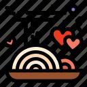 chopstick, food, love, noodle, noodles icon