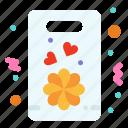 flower, gift, love, present icon