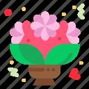 bouquet, flower, love, romantic, roses